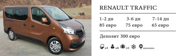 rent auto tenerife renault traffic